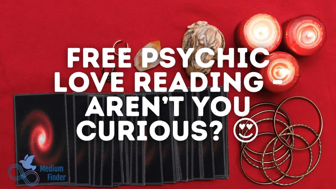 Free Psychic Love Reading - Aren't You Curious? 😍