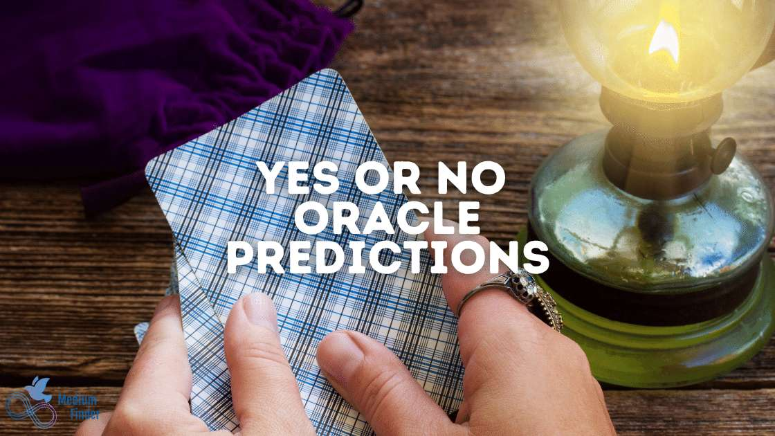 Yes or No Oracle Predictions