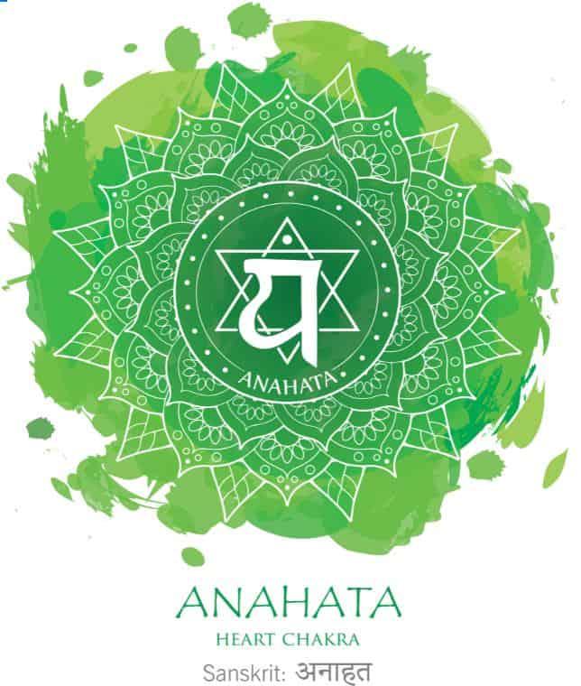Green, or Heart Chakra