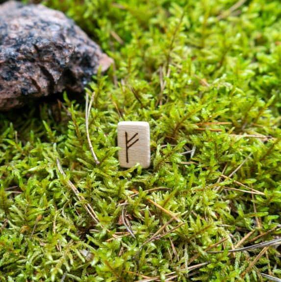 Fehu Rune Stone