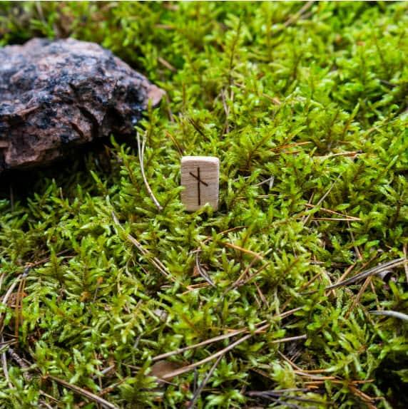 Nauthiz rune stone
