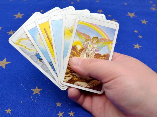 Choosing An Angel Card